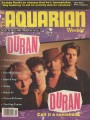 DURAN DURAN The Aquarian Weekly (3/10-17/93) USA Magazine