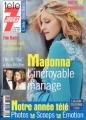 MADONNA Tele 7 Jours (12/30/00-1/5/01) FRANCE Magazine