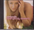 AMANDA Everybody Doesn't USA CD5