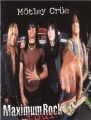 MOTLEY CRUE 1999 Maximum Rock Tour JAPAN Tour Program