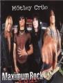 MOTLEY CRUE 1999 Maximum Rock Tour JAPAN Tour Program