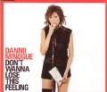 DANNII MINOGUE Don't Wanna Lose This Feeling UK 12