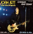 JOAN JETT & THE BLACKHEARTS Crimson And Clover GERMANY 7