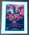 BLACK EYED PEAS THE E.N.D World Tour USA Laminated Tour Flyer