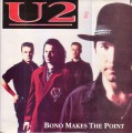 U2 Bono Makes The Point UK LP