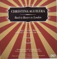 CHRISTINA AGUILERA Back To Basics In London USA DVD Single