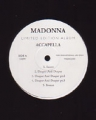 MADONNA Accapella Limited Edition UK LP w/10 Tracks