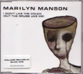 MARILYN MANSON I Don't Like The Drugs UK CD5 Part 1 w/3 Versions