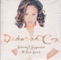 DEBORAH COX Nobody's Supposed To Be Here USA CD5