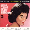 CONNIE FRANCIS Screen Music Highlights JAPAN 7