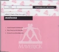 MADONNA What It Feels Like For a Girl GERMANY 3 Track Promo CD5