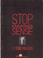 TALKING HEADS  Stop Making Sense JAPAN Movie Program