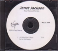JANET JACKSON All Nite (Don't Stop) USA CD5 Test Pressing (5/3)