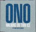 YOKO ONO Walking On Thin Ice UK CD5 12`` w/Pet Shop Boys Remixes