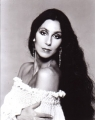 CHER Cher with wavy hair USA Photo