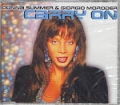 DONNA SUMMER w/GIORGIO MORODER Carry On GERMANY Picture CD5