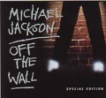 MICHAEL JACKSON Off The Wall Special Edition USA CD