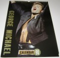 GEORGE MICHAEL 1990 Approved UK Calendar