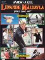 JAMES BOND 007 A View To A Kill FINLAND Comic Book ROGER MOORE