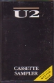 U2 Cassette Sampler UK Cassette Promo Only w/17 Tracks