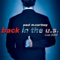 PAUL McCARTNEY Back In The U.S. Live 2002 USA 2CD