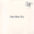 GEORGE MICHAEL One More Try UK CD3