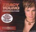 TRACY YOUNG Dance Culture USA CD w/Tracks by MADONNA, CYNDI LAUPER, CHAKA KHAN and more
