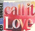 YELLO Call It Love GERMANY CD5