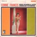 CONNIE FRANCIS Sings Spanish And Latin American Favorites JAPAN LP [SMM]