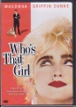 MADONNA Who's That Girl  USA DVD