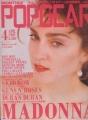 MADONNA Popgear (4/89) JAPAN Magazine