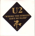 U2 Where The Streets Have No Name USA CD5 Promo Only w/1-Trk