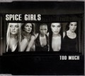 SPICE GIRLS Too Much UK CD5 w/3 Tracks & Postcard