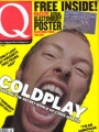 COLDPLAY Q (8/02) UK Magazine