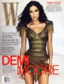 DEMI MOORE W (12/09) USA Magazine