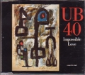 UB40 Impossible Love UK CD5
