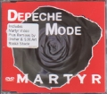 DEPECHE MODE Martyr EU DVD Single