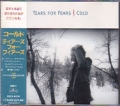 TEARS FOR FEARS Cold JAPAN CD5 w/3 Tracks