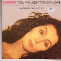 CHER You Wouldn't Know Love UK 7