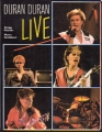 DURAN DURAN Live USA Picture Book by Philip Kamin/Peter Goddard