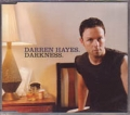 DARREN HAYES Darkness AUSTRALIA CD5 w/4 Tracks including Videos