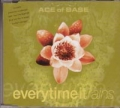 ACE OF BASE Everytime It Rains w/3 Tracks