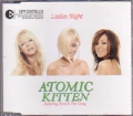 ATOMIC KITTEN featuring KOOL & THE GANG Ladies Night EU CD5 w/3 Tracks