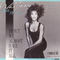 WHITNEY HOUSTON Didn't We Almost Have It All JAPAN 7