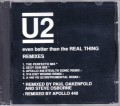 U2 Even Better Than The Real Thing Remixes USA CD5 w/5 Versions
