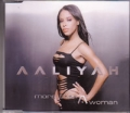 AALIYAH More Than A Woman UK CD5 w/Mixes and Video