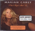 MARIAH CAREY Don't Forget About Us UK CD5 Part 2 w/3 Tracks