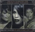 WHITNEY HOUSTON My Love Is Your Love USA CD Promo Only
