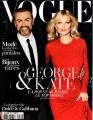 GEORGE MICHAEL Vogue (10/12) FRANCE Magazine
