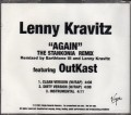 LENNY KRAVITZ Again USA CD5 Promo Only